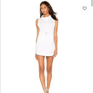 L*SPACE Cory Dress in White